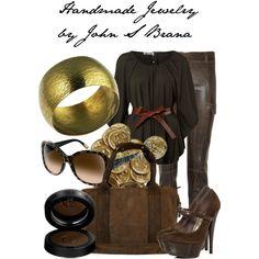 Handmade Jewelry by John S Brana by linseygreen on Polyvore