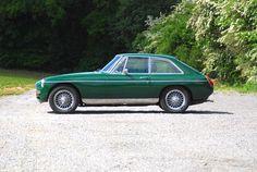 MGB GT 1977 profil LR