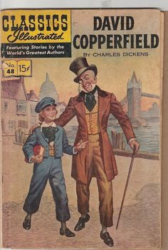 from $1.79 - Classics Illustrated #48  David Copperfield  Hrn 167