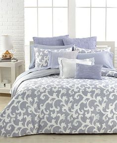Vera Wang Scrolls Collection - Bedding Collections - Bed & Bath - Macy's