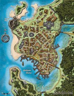 map of the town of diobel pathfinder golarion maps