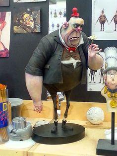 Mr. Trout...... One of the henchmen in Box trolls.... | BOXTROLLS ...