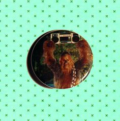 Wookie Say Anything Pinback Button by TheWorstShopEver on Etsy, $2.00