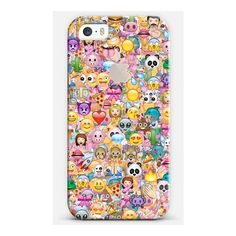 EMOJI (with the APPLE logo) - iPhone 7 Case, iPhone 7 Plus Case,... ($35) ❤ liked on Polyvore featuring accessories, tech accessories, emoji and phone case