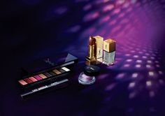 YSL Night 54 Makeup Collection Fall 2017 promo