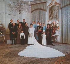 trouwfotos van Prinses Margriet