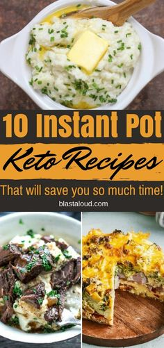 Instant pot keto recipes you NEED to try! These keto instant pot recipes are absolutely delicious! #keto #ketorecipes #instantpot #instantpotketo #ketoinstantpot #ketosis