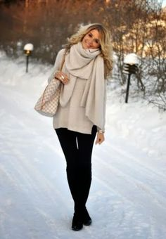 If you like «the bigger, the better» theory, this article is for you. It's so nice when you can wrap yourself in something warm and comfortable like these adorable oversized scarves. Every fashionista needs this accessory because it's a simple way to be chic and gorgeous on usual days. Just add an oversized scarf to...