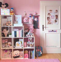 Army Room Decor, Cute Bedroom Decor, Room Ideas Bedroom, Cute Room Ideas, Kawaii Room, Tumblr Rooms, Room Goals, Aesthetic Room Decor, Dream Rooms
