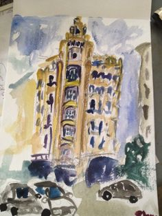 Have Watercolors Will Travel: Hotel Union
