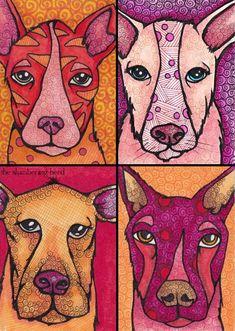 love this! .. cool dog art