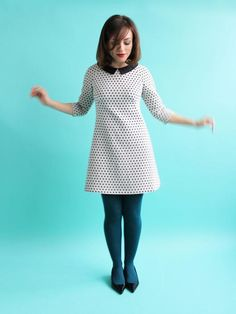 Francoise sixties shift dress – chic sewing pattern by Tilly and the Buttons