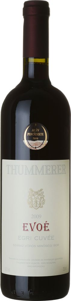 Thummerer Evoé Egri Cuvée High quality Hungarian wine Red dry Whiskey Bottle, Wines, Red Wine