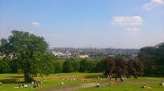 Alexandra Park, London. Great place for a picnic with views over the city