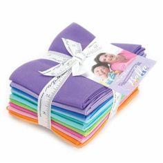 Bella Solids Designer Series Fat Quarter Bundle 12pc  Me and