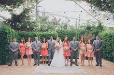 2014 Wedding Trends   Shades of Pink   Pink Wedding Inspiration   Pink Bridesmaid Dresses