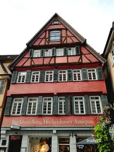 Here Hermann Hesse worked as a book seller... Hermann Hesse, Fruit Trees, House Styles, Book, Book Illustrations, Books