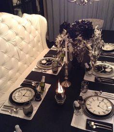 New Year's Tablescape Idea