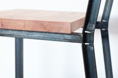 We built a dining set comprising the Cracked Table and Kerf Chairs for local public relations firm Secret Agent PR. We constructed the pieces out of reclaimed old growth and new FSC-certified redwood....