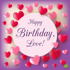 Love Birthday Quotes The 40 Romantic Birthday Wishes  Wishesgreeting  ♥ Love Quotes