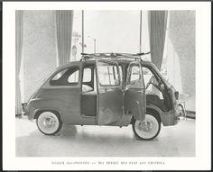 a8211a05544c 48 Best Fiat 600 Multipia images   Fiat 600, Vintage Cars, Antique cars