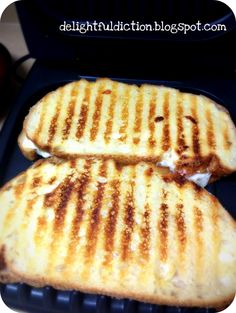 Panini on a George Foreman Grill