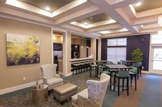 Clubhouse at Charlotte Apartments