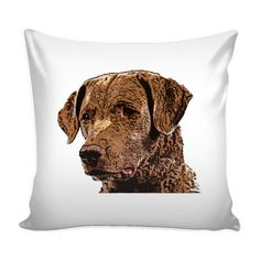 Expressed your passion with amazing Chesapeake Bay Retriever Dog Pillow Cover from TeeAmazing. Click the link below.  Find your new favorite bags and tote bags with unique designs. Please visit - https://teeamazing.co/ #TeeAmazing