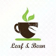 Winner for Leaf & Bean contest logo