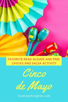 Cinco de Mayo activities that you can do in the classroom with your kids. There is a free sequencing activity that goes with the book Chicks and Salsa. Check out some other books and activities that you can do in the classroom to celebrate Cinco de Mayo.
