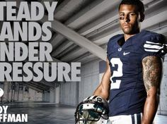 Cody Hoffman - Steady Hands Under Pressure. I like him a lot...