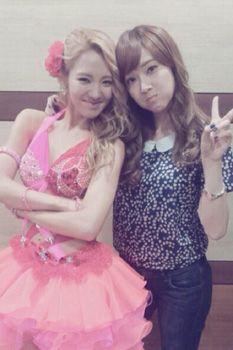 SNSD Jessica and Hyoyeon
