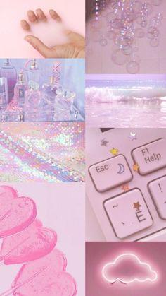 Wallpaper Backgrounds Aesthetic - Não fui eu que fiz mas amei Tumblr Wallpaper, Pink Wallpaper, Wallpaper Backgrounds, Aesthetic Collage, Aesthetic Grunge, Aesthetic Vintage, Aesthetic Anime, Aesthetic Pastel Wallpaper, Aesthetic Wallpapers