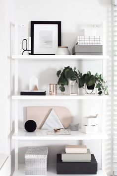 Staying organized is key to a working office.