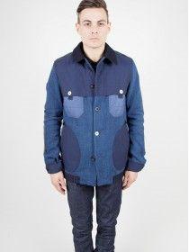 Junya Watanabe MAN x Hervier Indigo Dyed Work Jacket