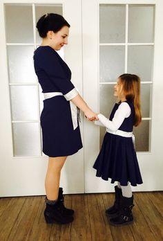 Mama-Tochter Kleider, Partnerlook, uniqueStyler