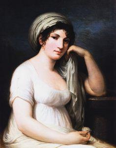 Ritratto della principessa Elisabetta Giovanna Mellerio Belgiojoso d'Este, 1803-1805, di Appiani Andrea