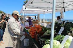 Avila Beach Farmers Market on the Promenade