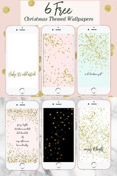 6 Free Christmas Themed Phone Wallpapers, Christmas phone background, christmas phone wallpaper, christmas phone wallpaper cute, christmas phone wallpaper free, iphone wallpaper christmas, iphone wallpaper tumblr, iphone wallpaper winter, iphone wallpaper christmas lights, pink iphone wallpaper