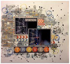 Travel Times Square, Scrapbooking, Travel, Viajes, Destinations, Traveling, Scrapbooks, Trips, Memory Books