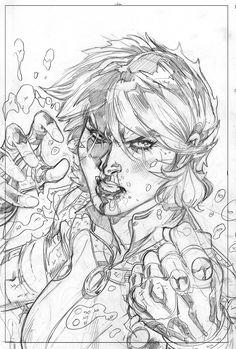 X-Men #6 Variant Cover Pencil by TerryDodson.deviantart.com on @deviantART
