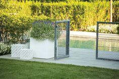 Bespoke handmade, steel mesh pool gates and trellis panels, shipped worldwide by Garden Requisites, nr Bath, England Garden Trellis Panels, Metal Trellis, Trellis Fence, Pool Gates, Pool Fence, Steel Mesh, Fencing, Bespoke, Barn