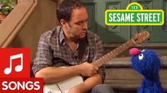 Dave Matthews and Grover Sing About Feelings on Sesame Street
