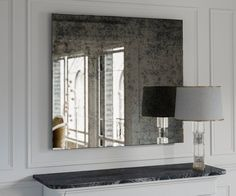 Antique mirror. Large wall mirror. Decorative by MirrorCooperative