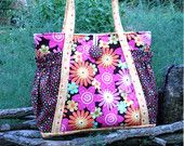 Easy pdf sewing pattern - Aivilo Original Satchel - easy to sew purse or diaper bag - instant download $7.95
