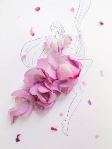 花びらを使った大胆アートにうっとり…自分でも好きな花でつくってみない? Wallpaper Nature Flowers, Flower Backgrounds, Creative Artwork, Creative Sketches, Fashion Illustration Sketches, Illustration Art, Flower Crafts, Flower Art, Drawing Wallpaper