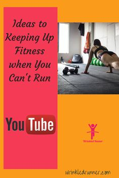 Over on the Wrinkled Runner YouTube channel we talk about ways to get through a break from running and keep our fitness levels up. #wrinkledrunner #runninginjuries Cross Training For Runners, Strength Training For Runners, Running Motivation, Fitness Motivation, Running Injuries, Up Fitness, Running Tips, Keep Up, At Home Workouts
