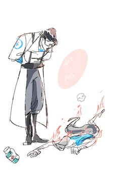 medic and scout Team Fortress 2 Medic, Valve Games, Team Fortess 2, City Folk, Art Memes, Best Games, Drawing S, Overwatch, Cute Art