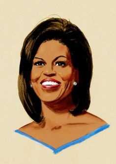 """Michelle Obama by Clifford Faust - www.cliffordfaust.com – FuTurXTV & Funk Gumbo Radio: http://www.live365.com/stations/sirhobson and """"Like"""" us at: https://www.facebook.com/FUNKGUMBORADIO"""