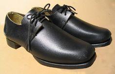 men's shoes, c. 1860s